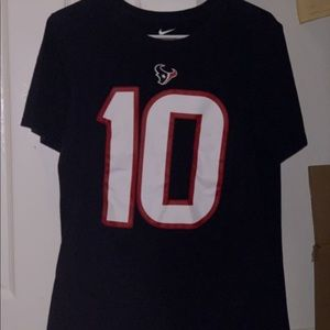 Size small Deante Hopkins texans nfl T-shirt